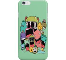 Doodle Monsters iPhone Case/Skin