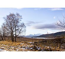 Loch Laiden And The Black Mount Photographic Print