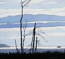Nipigon Winter by Douglas Hunt
