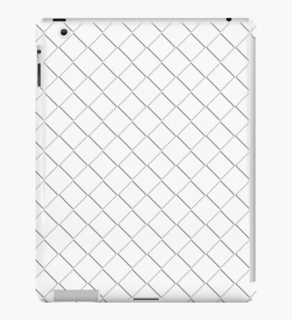 Tile Illusion - White iPad Case/Skin
