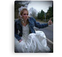 runaway bride 05 Canvas Print