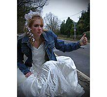 runaway bride 05 Photographic Print