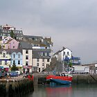 Brixham Harbour Jetty 2008  by Woodie