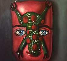 The Mask by Randy  Burns