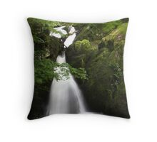 Stock Ghyll Force, Ambleside Throw Pillow