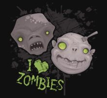 Zombie Heads by fizzgig