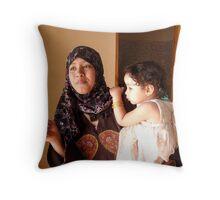 Luxor madonna Throw Pillow