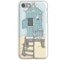 The Beach Hut iPhone Case/Skin