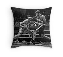 Blue Horizon Boxers 3 Throw Pillow