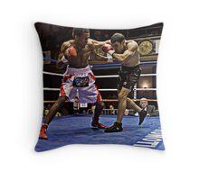 Blue Horizon Boxers 4 Throw Pillow