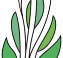 Simple Leaf Design Phone Case & Sticker Sticker