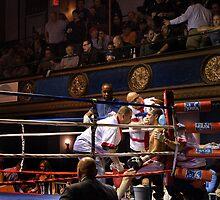 Blue Horizon Boxers 6 by Ed Wheeler