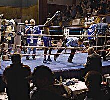 Blue Horizon Boxers 7 by Ed Wheeler