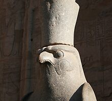 Edfu, Egypt by voloro