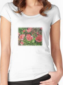 First Bloom Women's Fitted Scoop T-Shirt