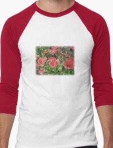 First Bloom Men's Baseball ¾ T-Shirt