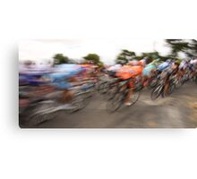 Past in a blur of colour Canvas Print