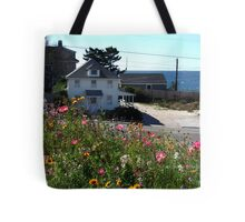 Fall Wild Flowers at the beach Tote Bag