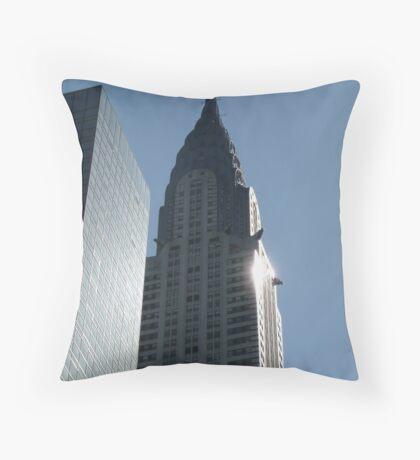 Chrysler building, New York City Throw Pillow