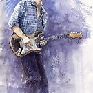 Jazz Rock Guitarist John Mayer 5 variant by Yuriy Shevchuk