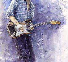 Jazz Rock Guitarist John Mayer 5 variant by Yuriy Shevchuk