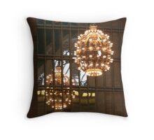 Grand Central Station Light Throw Pillow
