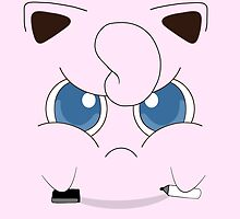 Pissed Off Jigglypuff by ZakBretherton