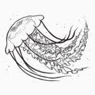 Nice Jellyfish by Kristel Mallet