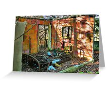 Rest Well at the Haven Modern Motel Greeting Card