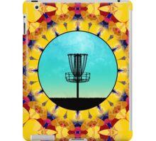 Disc Golf Abstract Basket 4 iPad Case/Skin