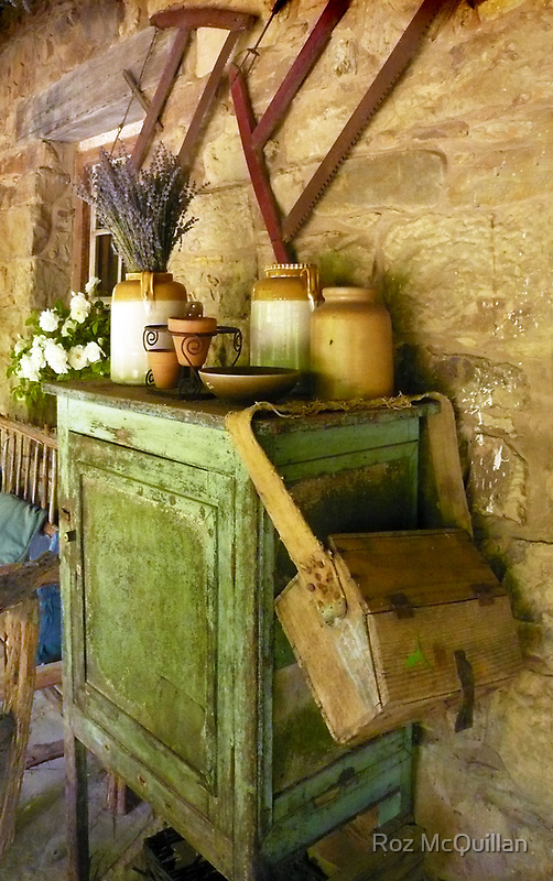 The Old Homestead, Lavendula Farm, Daylesford by Roz McQuillan