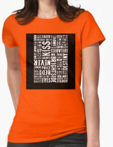 Writer*s Block • Mr Brightside Womens Fitted T-Shirt
