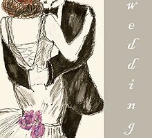 Wedding Card Juliette by Trish Loader