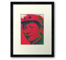 Red Mao  Framed Print