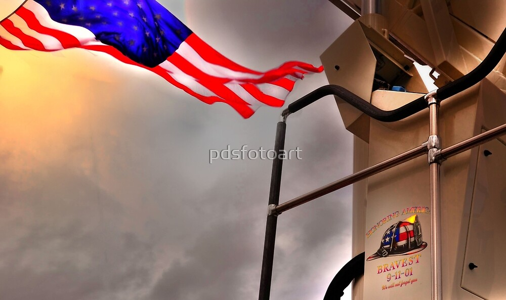 To Fallen Heros-Old Glory by pdsfotoart