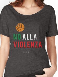 NO ALLA VIOLENZA Women's Relaxed Fit T-Shirt