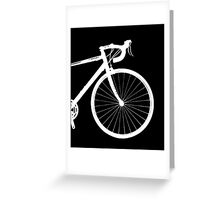inverted bike Greeting Card