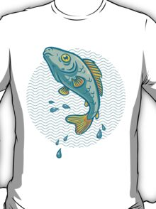 fish jumping out of water T-Shirt