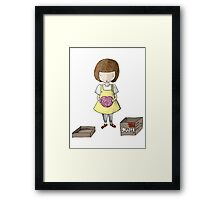 The All New Brain Framed Print