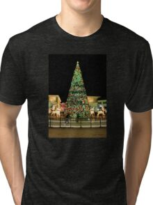 Holiday Skaters Tri-blend T-Shirt