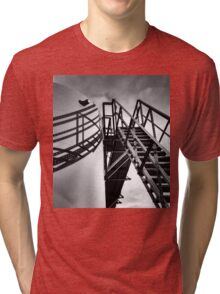 cat walk Tri-blend T-Shirt