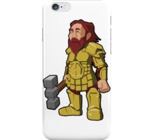 Dwarf Gaming Character Design iPhone Case/Skin