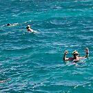 In The Deep Aqua Sea by Memaa