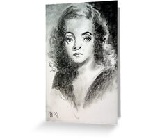Bette Davis #3 - ACEO Greeting Card