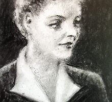 Bette Davis #4 - ACEO by Bill Meeker