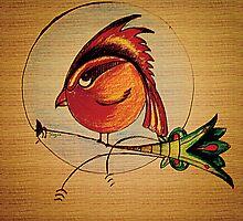 Punk Bird by Susan Morales