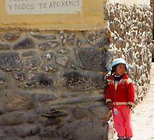 Waiting for Mum (Peru) by BGpix