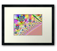Patterned Sky Framed Print