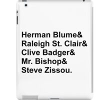 Bill Murray Wes Anderson Characters iPad Case/Skin