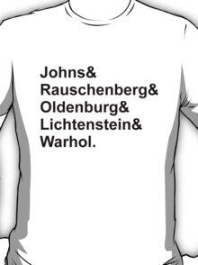 Modern Artists, Pop Art T-Shirt
